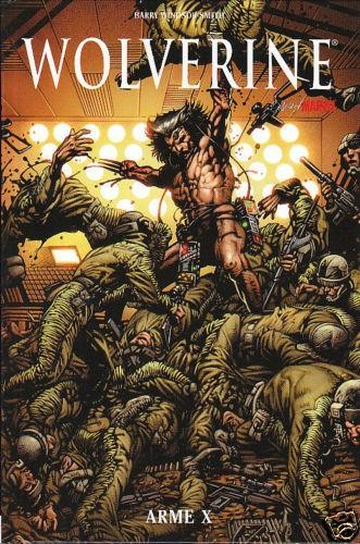 Couverture de Best of Marvel -16- Wolverine : Arme X