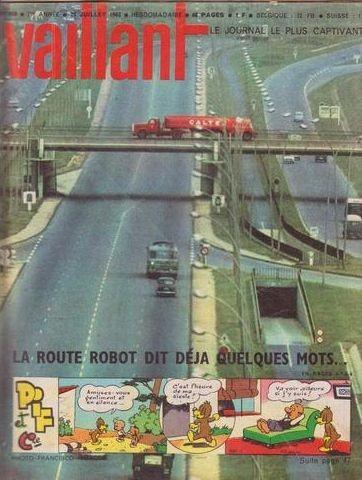 Couverture de Vaillant (le journal le plus captivant) -950- Vaillant