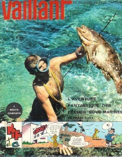 Couverture de Vaillant (le journal le plus captivant) -951- Vaillant