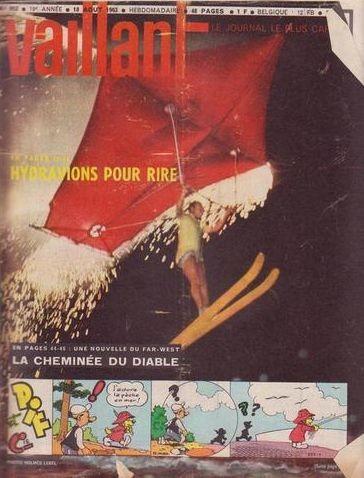 Couverture de Vaillant (le journal le plus captivant) -953- Vaillant