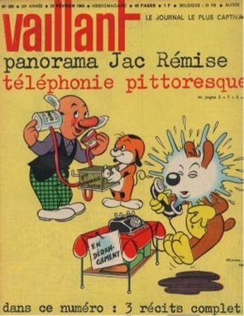 Couverture de Vaillant (le journal le plus captivant) -980- Vaillant