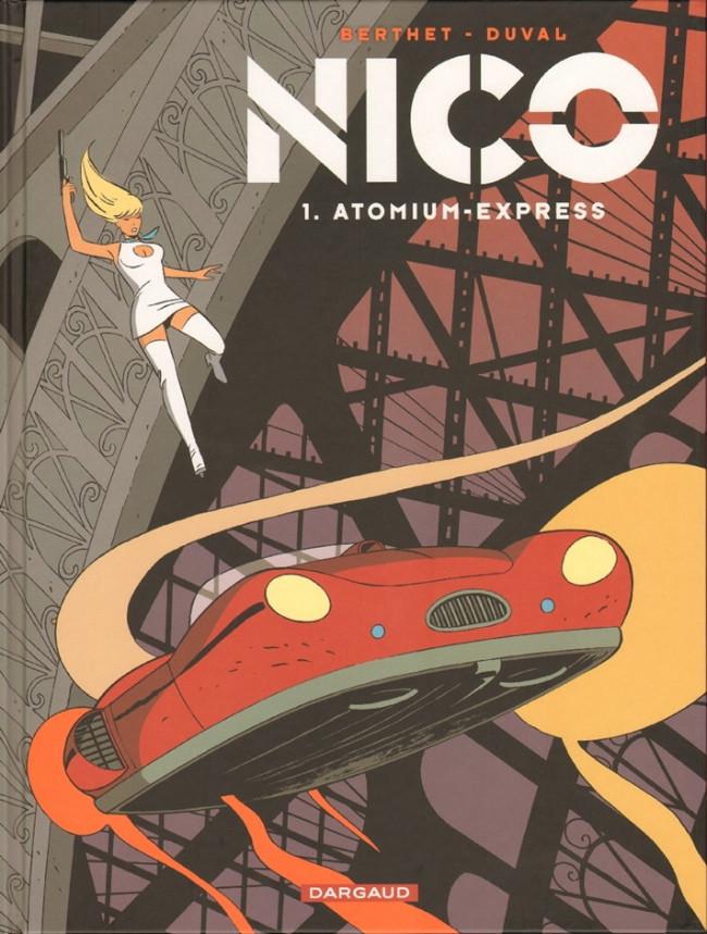 Couverture de Nico -1- Atomium-Express