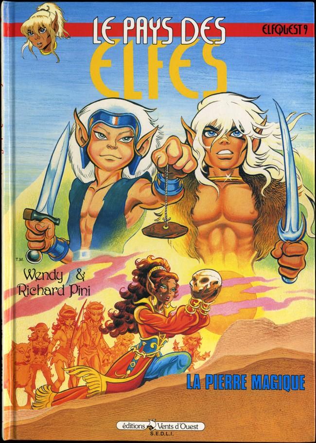 Couverture de ElfQuest - La Fantastique quête des elfes -9- La pierre magique