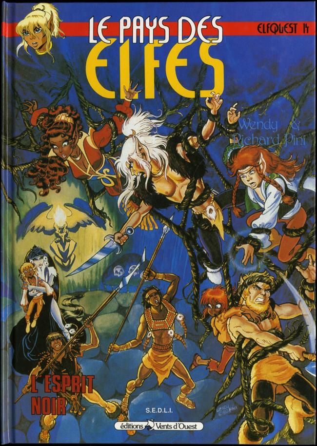 Couverture de ElfQuest - La Fantastique quête des elfes -14- L'esprit noir