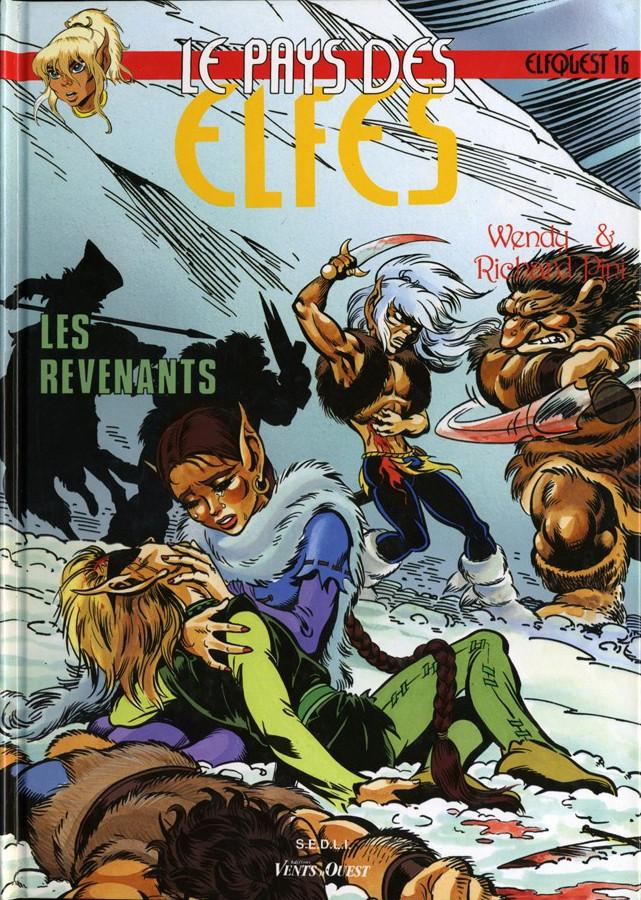 Couverture de ElfQuest - La Fantastique quête des elfes -16- Les revenants