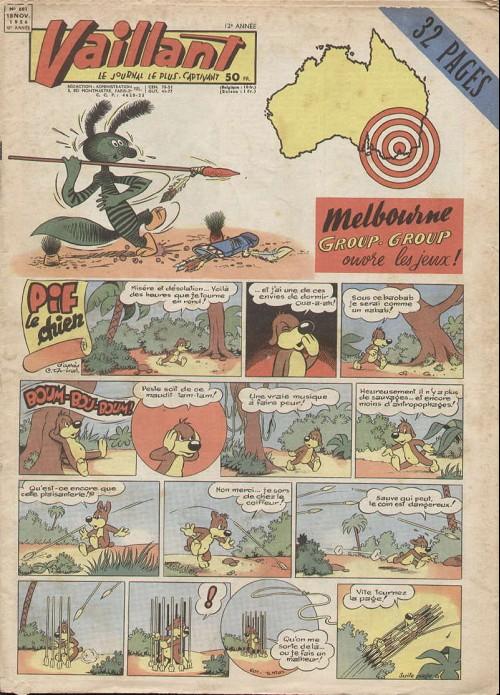 Couverture de Vaillant (le journal le plus captivant) -601- Vaillant