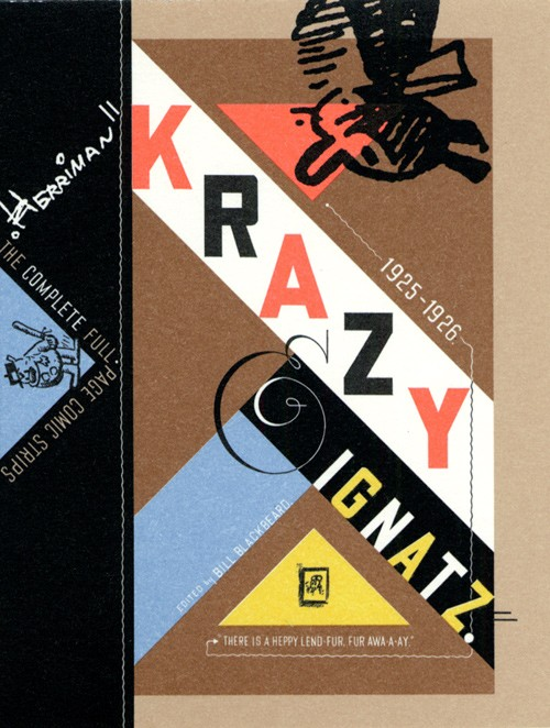 Couverture de Krazy & Ignatz (2002) -INT04- 1925-1926: There Is a Heppy Lend Fur Fur A-Waay