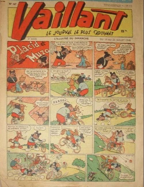 Couverture de Vaillant (le journal le plus captivant) -167- Vaillant