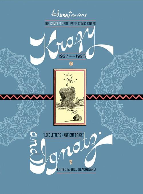 Couverture de Krazy & Ignatz (2002) -INT05- 1927-1928: Love Letters in Ancient Brick