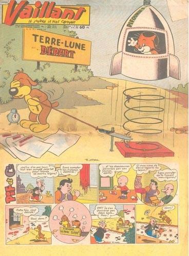 Couverture de Vaillant (le journal le plus captivant) -742- Vaillant