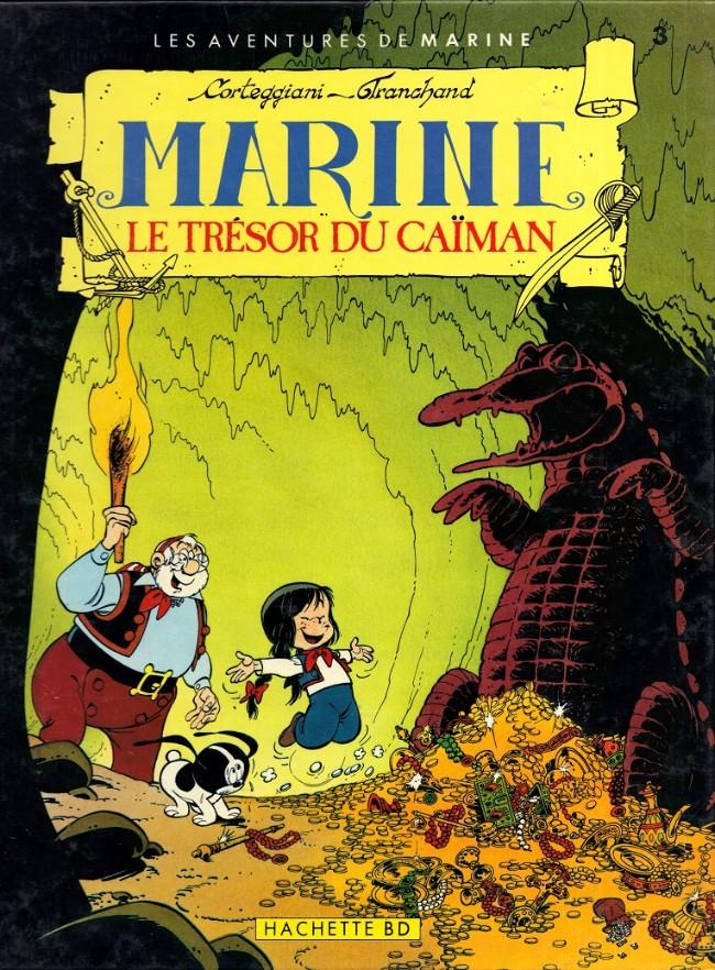 Couverture de Marine (Corteggiani/Tranchand) -3- Le trésor du caïman