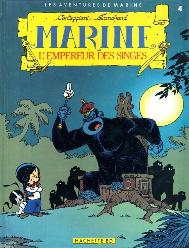 Couverture de Marine (Corteggiani/Tranchand) -4- L'empereur des singes