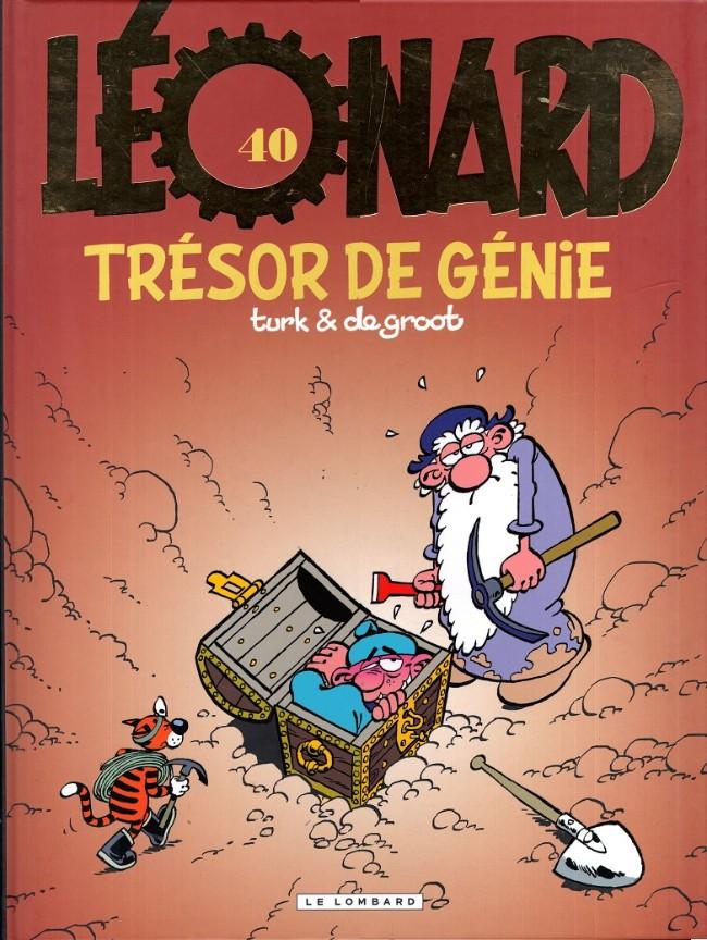 Couverture de Léonard -40- Trésor de Génie
