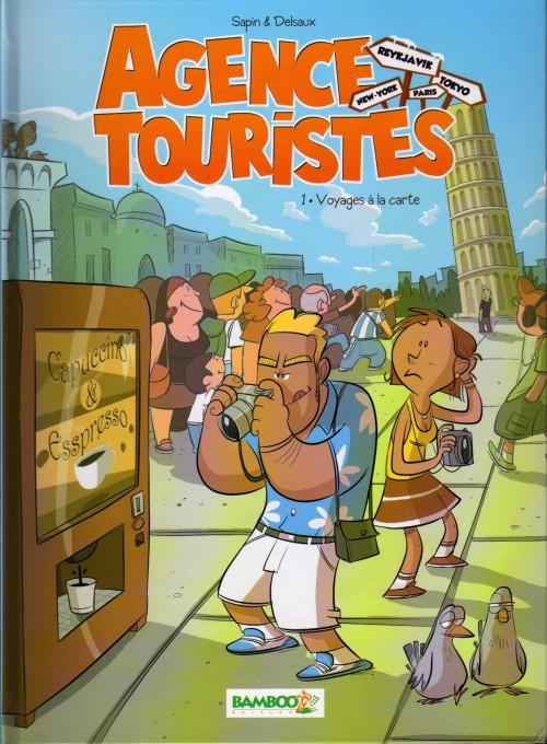 Couverture de Agence touristes -1- Voyages à la carte