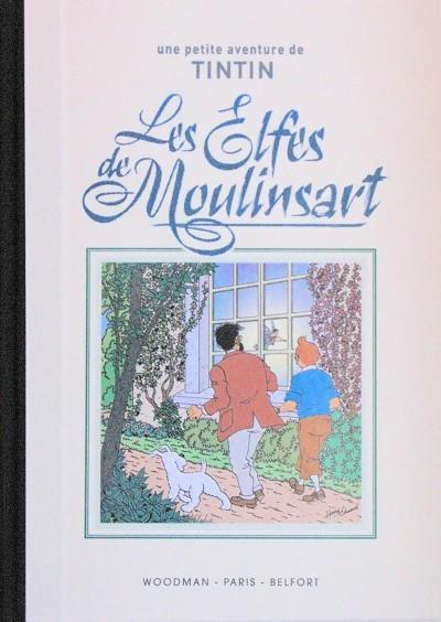 Couverture de Tintin - Pastiches, parodies & pirates -TT- Les Elfes de Moulinsart