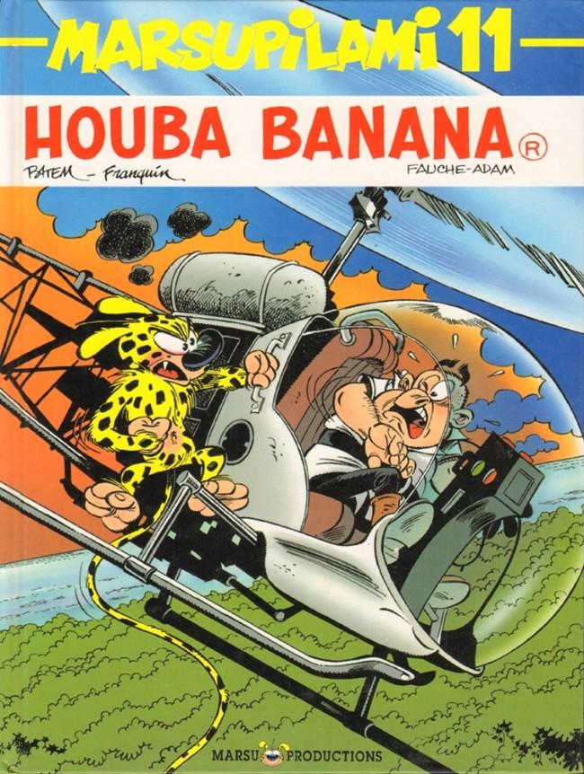 Couverture de Marsupilami -11- Houba banana