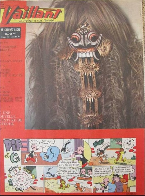 Couverture de Vaillant (le journal le plus captivant) -877- Vaillant