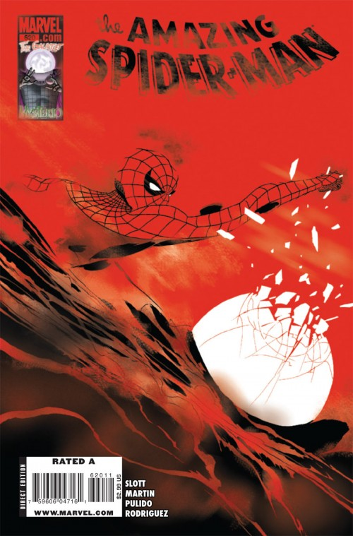 Couverture de Amazing Spider-Man (The) Vol.2 (Marvel comics - 1999) -620- Mysterioso (Part 3) : Smoke & Mirrors