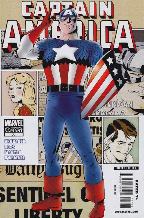 Couverture de Captain America (2005) -50- Days gone by