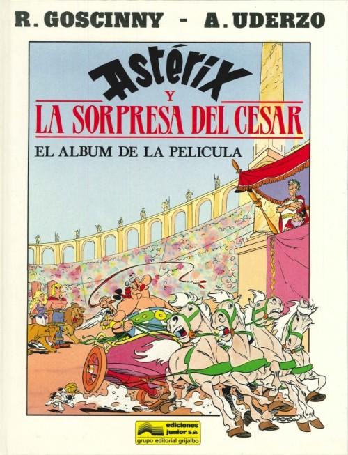 Couverture de Astérix (en espagnol) -C2- Astérix y la sorpresa del Cesar