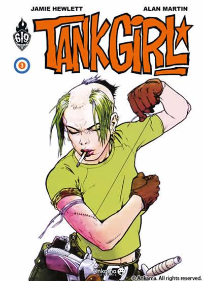 Couverture de Tank Girl -3- Tome 3