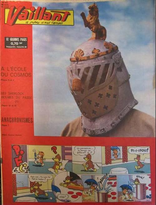 Couverture de Vaillant (le journal le plus captivant) -884- Vaillant