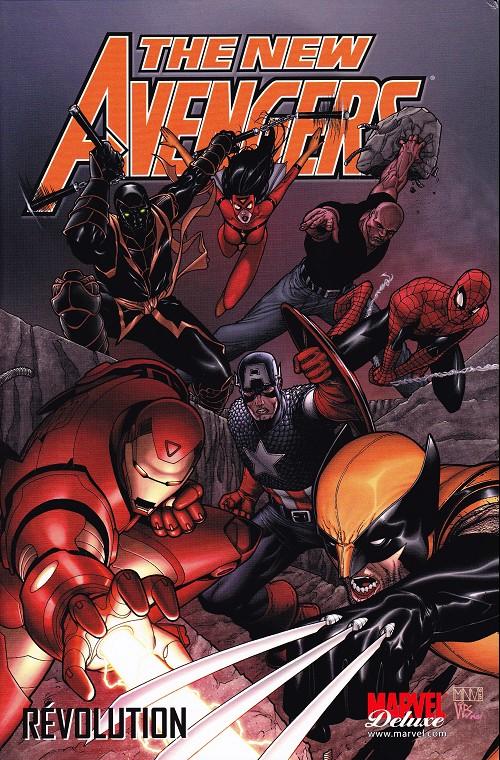 Couverture de New Avengers (The) (Marvel Deluxe - 2007) -3- Révolution