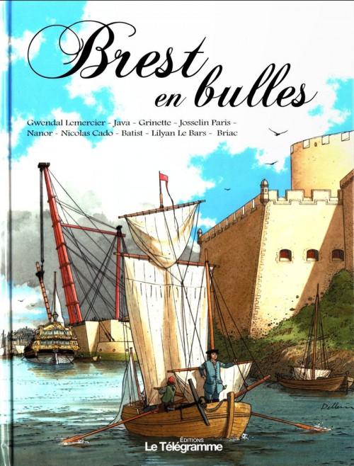 Couverture de Brest en bulles