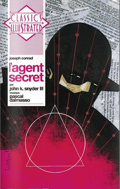 Couverture de Classics Illustrated - L'agent secret