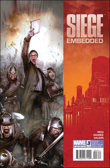 Couverture de Siege Embedded (Marvel Comics - 2010) -3- Book three