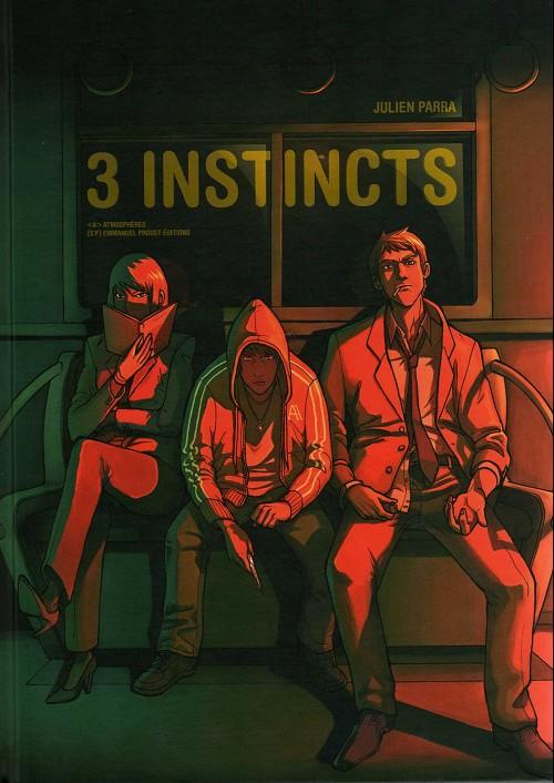 Couverture de 3 instincts