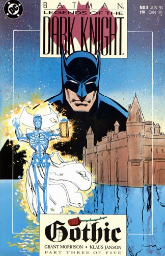 Couverture de Batman: Legends of the Dark Knight (1989) -8- Gothic - part three of five