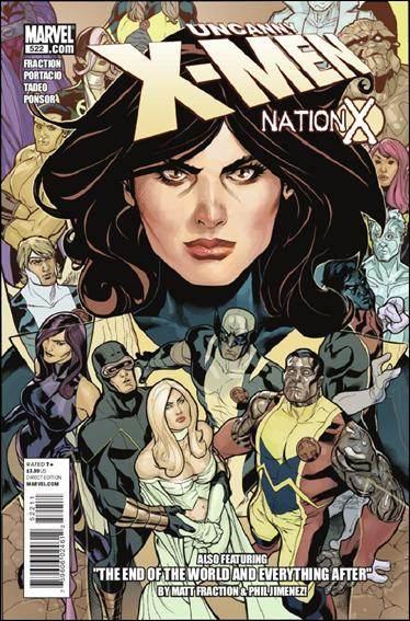 Couverture de Uncanny X-Men (The) (Marvel comics - 1963) -522- Ghostly