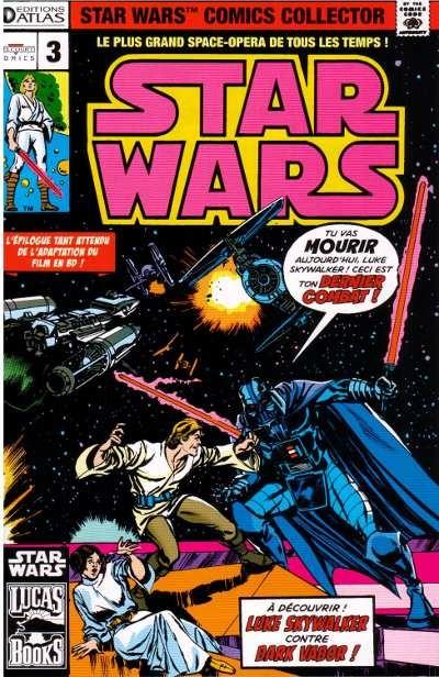 Couverture de Star Wars (Comics Collector) -3- Numéro 3