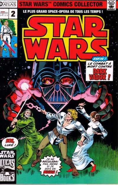 Couverture de Star Wars (Comics Collector) -2- Numéro 2