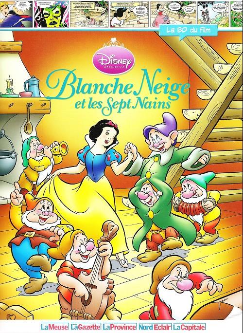 Disney La Bd Du Film 5 Blanche Neige Et Les Sept Nains