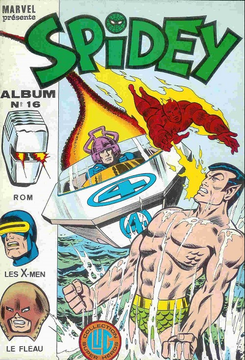 Couverture de Spidey -Rec16- Album N°16 (du n°46 au n°48)