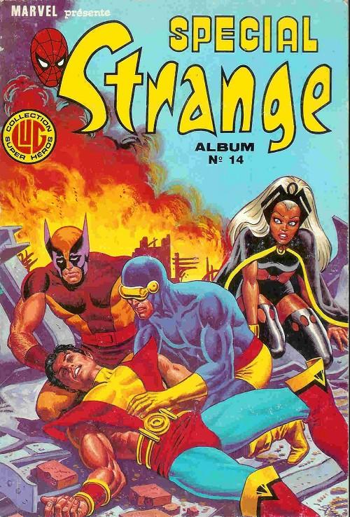Couverture de Spécial Strange -Rec14- Album N°14 (du n°40 au n°42)