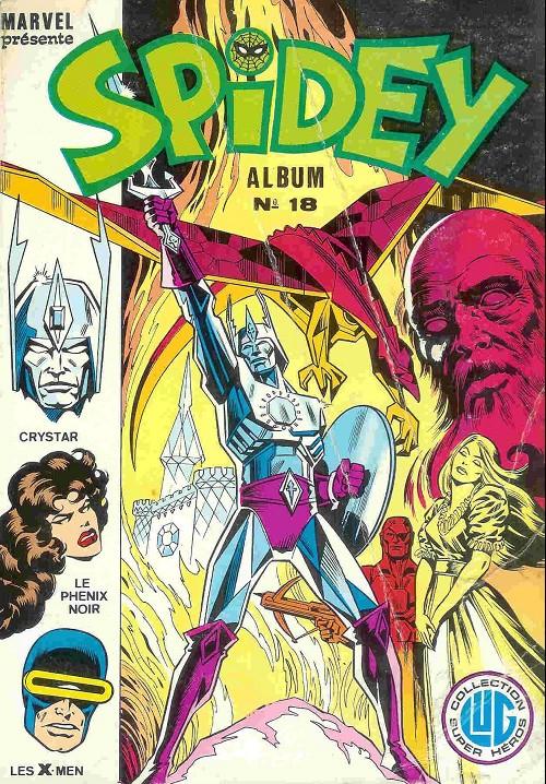 Couverture de Spidey -Rec18- Album N°18 (du n°52 au n°54)