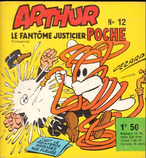 Couverture de Arthur le fantôme (Poche) -12- Bing-bang-boum