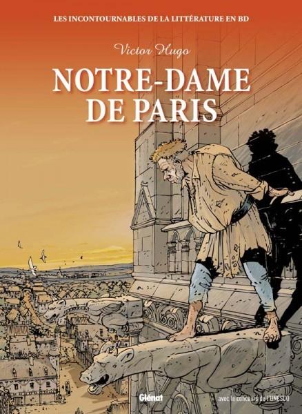 Couverture de Les incontournables de la littérature en BD -4- Notre-Dame de Paris