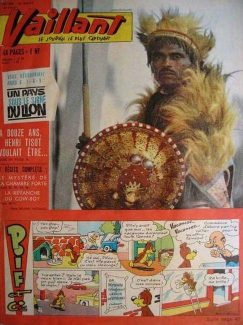 Couverture de Vaillant (le journal le plus captivant) -902- Vaillant