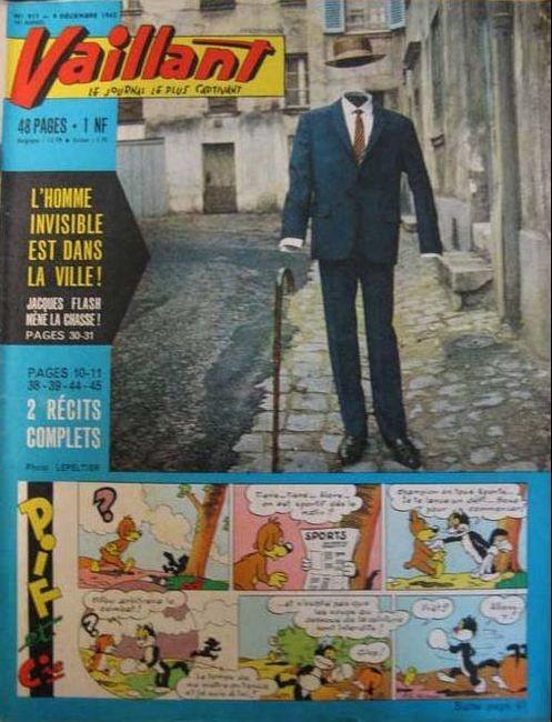Couverture de Vaillant (le journal le plus captivant) -917- Vaillant