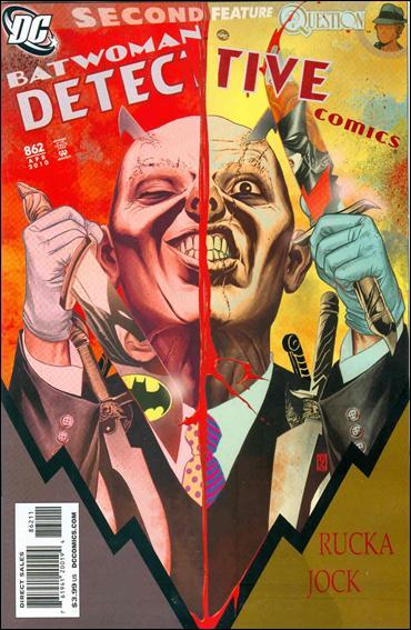 Couverture de Detective Comics (1937) -862- Cutter part 2