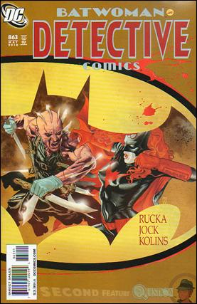 Couverture de Detective Comics (1937) -863- Cutter part 3