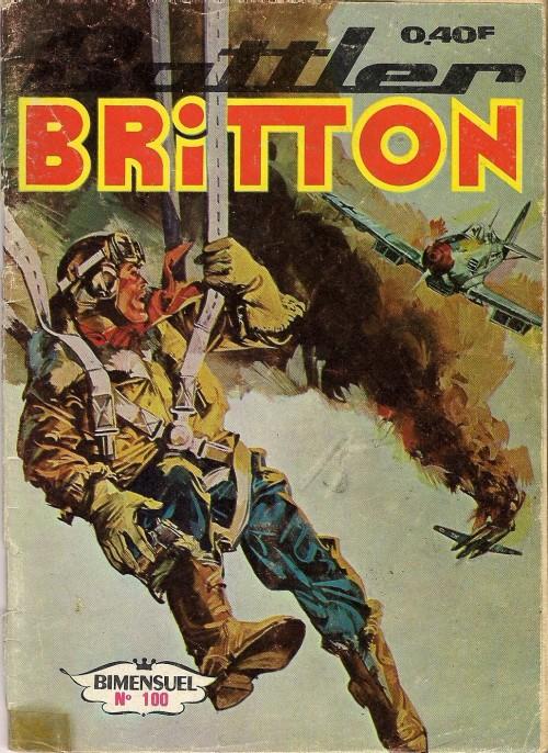 Couverture de Battler Britton -100- Week-end à Tok-Tok