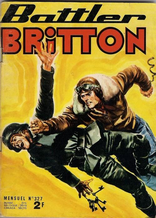 Couverture de Battler Britton -327- L'escadrille des fortes têtes