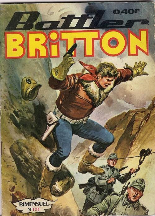 Couverture de Battler Britton -135- Les oiseaux de guerre