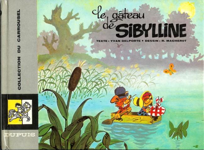 Couverture de Sibylline - Le Gâteau de Sibylline