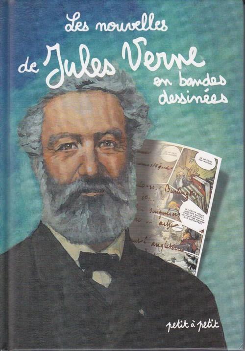 Couverture de Poèmes en bandes dessinées - Les nouvelles de Jules Verne en bandes dessinées